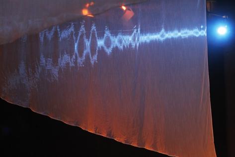 Sao Paulo, SP, Brasil. Data 17-05-2016. Espetaculo Isadora. Cenário Marco Lima. Iluminação Wagner Freire.Teatro do Masp Foto Lenise Pinheiro/Folhapress