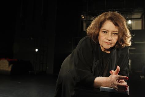 Sao Paulo, SP, Brasil. Data 27-05-2016. Diretora Eugenia Thereza Andrade. Teatro Sesc Anchieta. Foto Lenise Pinheiro/Folhapress