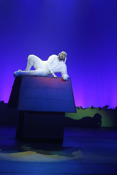 Sao Paulo, SP, Brasil. Data 02-03-2016. Espetaculo Meu Amigo Charlie Brown. Ator Tiago Abravanel. Teatro Shopping Frei Caneca. Foto Lenise Pinheiro/Folhapress.